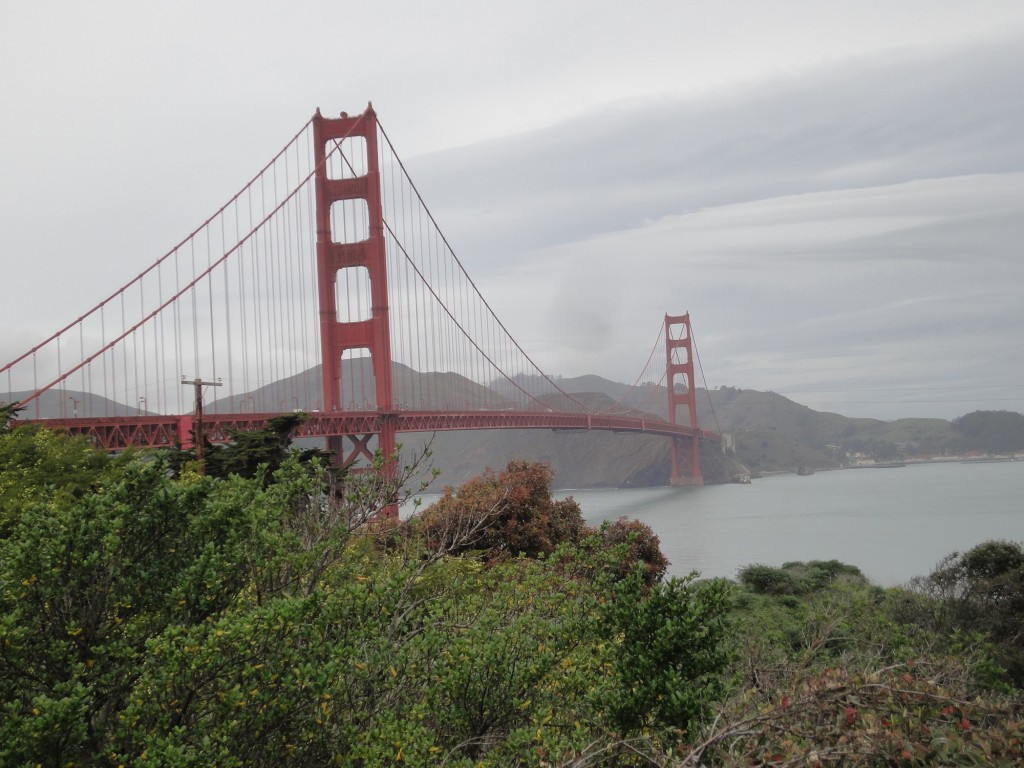 golden gate bridge 2014 Mar